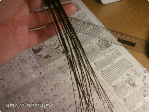 Мастер-класс, Поделка, изделие Моделирование: Обещаный МК по тычинкам для лилии Клей, Пастель, Фарфор холодный. Фото 9