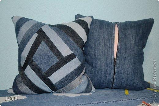 Мастер-класс Пэчворк: Вторая жизнь старых джинс (пэчворк) Ткань. Фото 2
