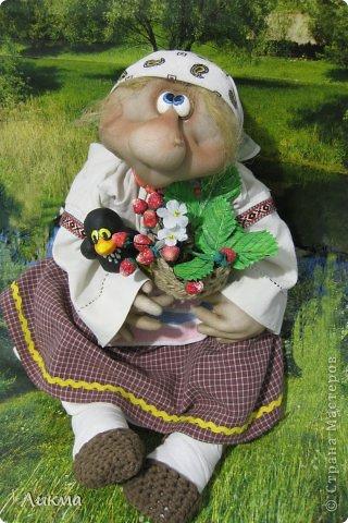 Куклы Шитьё: Марфушенька-Душенька Капрон, Ткань День рождения. Фото 1