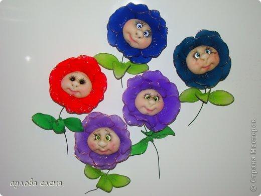 Мастер-класс Шитьё: Магниты-розочки Капрон, Магниты, Проволока 8 марта. Фото 1
