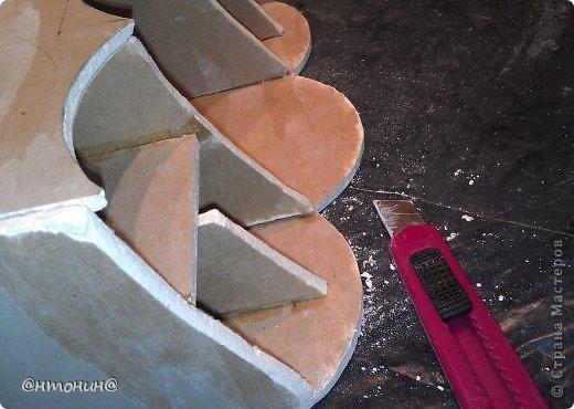 Мастер-класс, Поделка, изделие Декупаж: Комодик из гипсокартона. Мастер класс. Фото 60