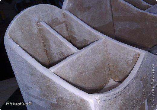 Мастер-класс, Поделка, изделие Декупаж: Комодик из гипсокартона. Мастер класс. Фото 66