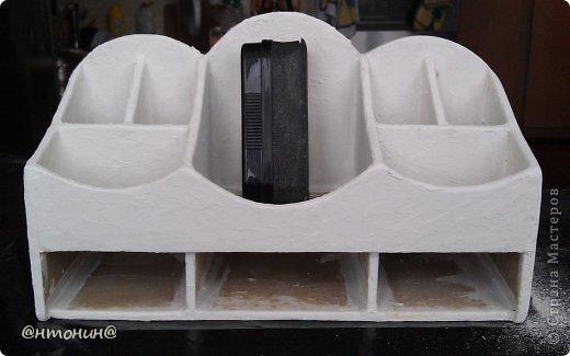 Мастер-класс, Поделка, изделие Декупаж: Комодик из гипсокартона. Мастер класс. Фото 74
