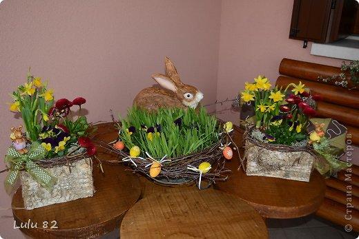 Скоро Пасха, во многих странах символом этого праздника является пасхальный заяц. Вот я и решила его сделать. . Фото 3