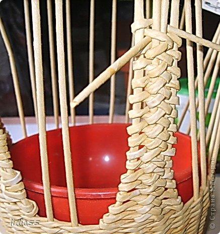 Мастер-класс, Поделка, изделие Плетение: МК курочки Трубочки бумажные. Фото 15