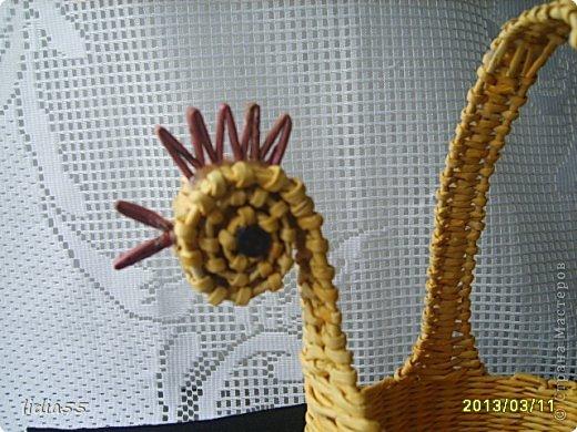Мастер-класс, Поделка, изделие Плетение: МК курочки Трубочки бумажные. Фото 22