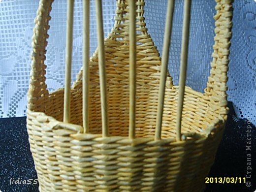 Мастер-класс, Поделка, изделие Плетение: МК курочки Трубочки бумажные. Фото 24
