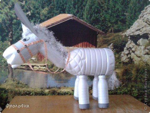 Видео Как Сделать Ослика Из Пластиковых Бутылок Пошаговая Инструкция - фото 6