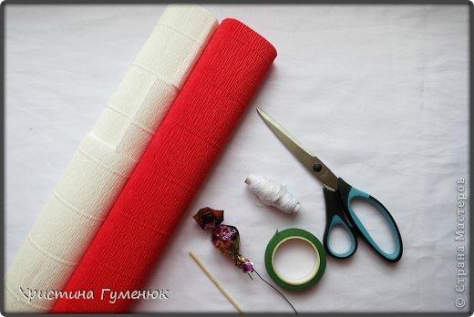 Мастер-класс, Свит-дизайн Бумагопластика: Цветы... как я их делаю... Бумага гофрированная. Фото 2