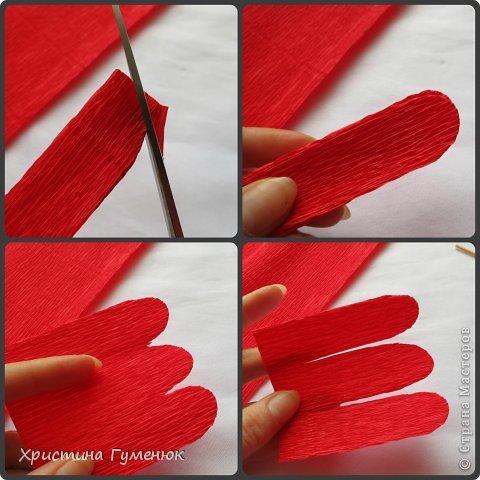 Мастер-класс, Свит-дизайн Бумагопластика: Цветы... как я их делаю... Бумага гофрированная. Фото 4