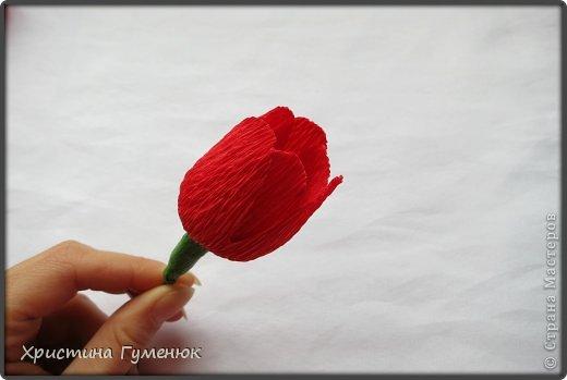 Мастер-класс, Свит-дизайн Бумагопластика: Цветы... как я их делаю... Бумага гофрированная. Фото 8