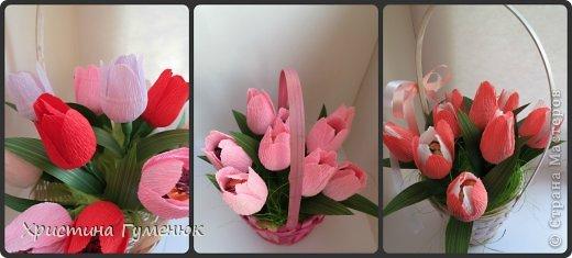Мастер-класс, Свит-дизайн Бумагопластика: Цветы... как я их делаю... Бумага гофрированная. Фото 1