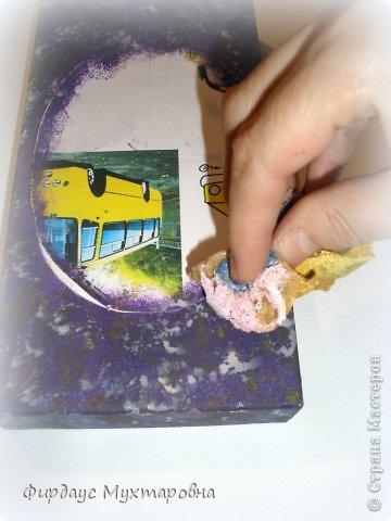 Декор предметов Декупаж: Имитация мрамора. Наши творения.. Фото 8