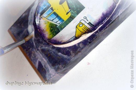 Декор предметов Декупаж: Имитация мрамора. Наши творения.. Фото 10