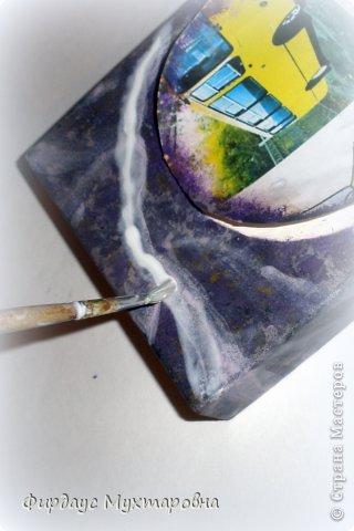Декор предметов Декупаж: Имитация мрамора. Наши творения.. Фото 11
