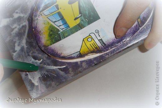 Декор предметов Декупаж: Имитация мрамора. Наши творения.. Фото 12