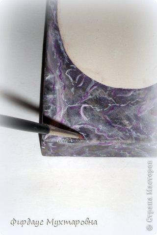 Декор предметов Декупаж: Имитация мрамора. Наши творения.. Фото 14