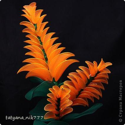 Поделка, изделие: Цветок- светильник Капрон. Фото 1