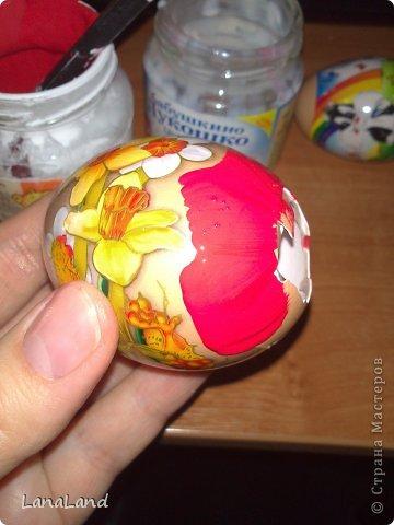Мастер-класс: яйца,пшеница мини-корзинка Пасха. Фото 7