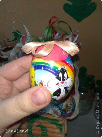 Мастер-класс: яйца,пшеница мини-корзинка Пасха. Фото 20
