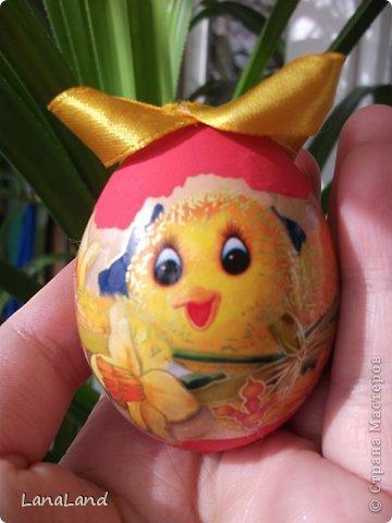 Мастер-класс: яйца,пшеница мини-корзинка Пасха. Фото 9
