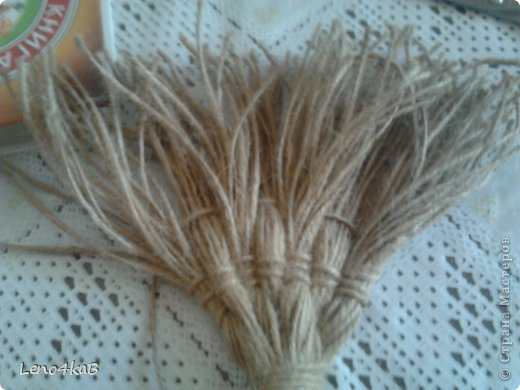 Веники из шпагата своими руками 19