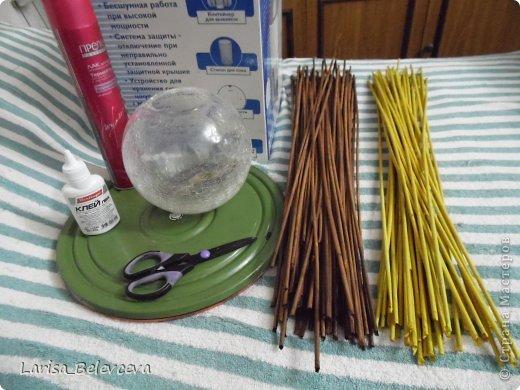 Мастер-класс Плетение: Кувшин руками чайника Бумага газетная, Трубочки бумажные. Фото 2