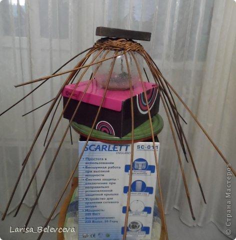Мастер-класс Плетение: Кувшин руками чайника Бумага газетная, Трубочки бумажные. Фото 3