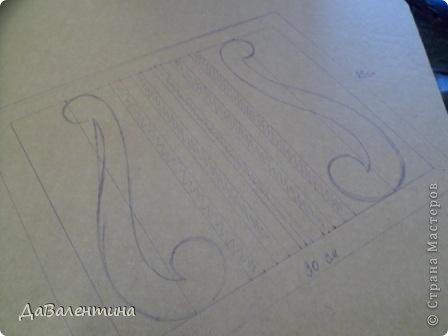 "Мастер-класс Коллаж: Картина из кожи ""Скрипка и Лилии"". Мастер -класс часть 3. Кожа. Фото 3"