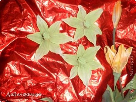 "Мастер-класс Коллаж: Картина из кожи ""Скрипка и Лилии"". Мастер -класс часть 3. Кожа. Фото 53"