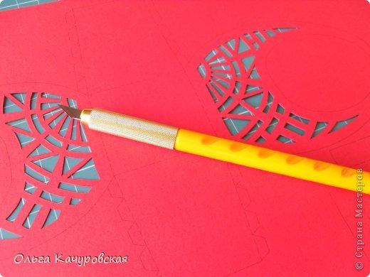 Мастер-класс, Упаковка Вырезание: Пасхальные корзинки Бумага Пасха. Фото 12