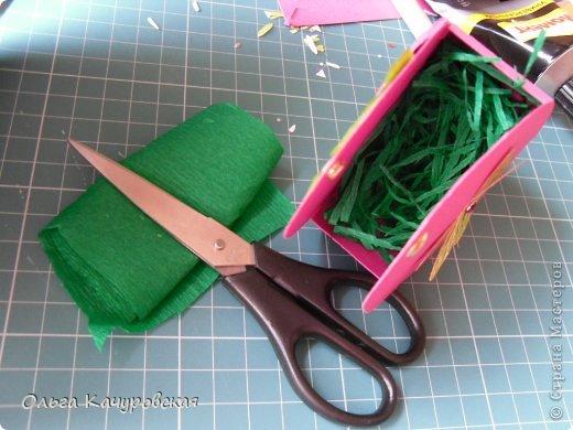 Мастер-класс, Упаковка Вырезание: Пасхальные корзинки Бумага Пасха. Фото 25