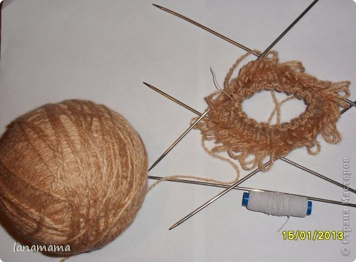 Мастер-класс Вязание спицами: Барашки для Наташки Пряжа. Фото 2