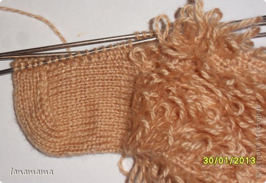 Мастер-класс Вязание спицами: Барашки для Наташки Пряжа. Фото 4