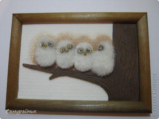 Картина из меха своими руками