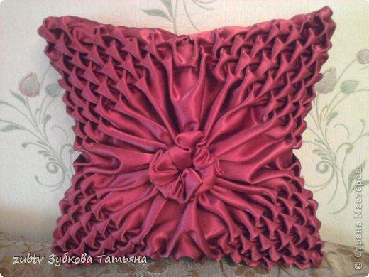 Мастер-класс Шитьё: Подушка с буфами Ткань. Фото 1