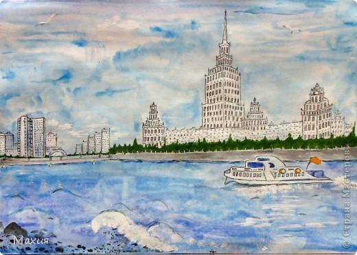 Поделки ко дню города москвы