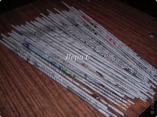 Мастер-класс,  Плетение, : Мастер класс плетения из газеты для новичков Бумага газетная Отдых, . Фото 1