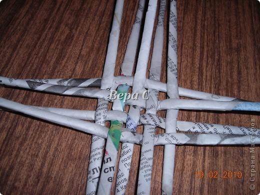 Мастер-класс,  Плетение, : Мастер класс плетения из газеты для новичков Бумага газетная Отдых, . Фото 5