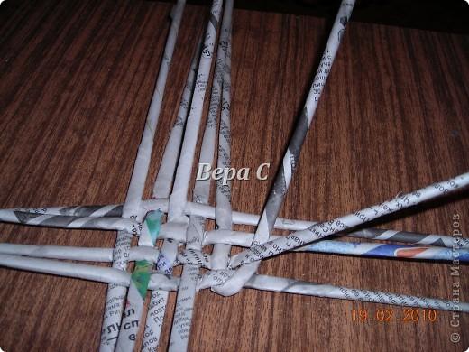 Мастер-класс Плетение: Мастер класс плетения из газеты для новичков Бумага газетная Отдых. Фото 6