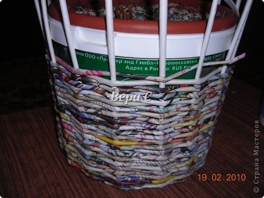 Мастер-класс,  Плетение, : Мастер класс плетения из газеты для новичков Бумага газетная Отдых, . Фото 11