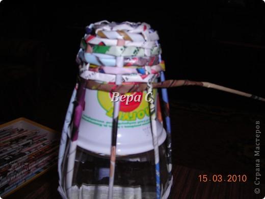 Мастер-класс,  Плетение, :  МК по плетению колокольчиков из газеты Бумага журнальная Отдых, . Фото 6