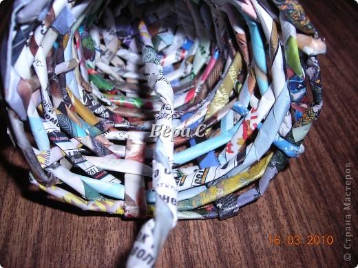 Мастер-класс, Плетение, : МК по плетению колокольчиков из газеты Бумага журнальная Отдых, . Фото 14