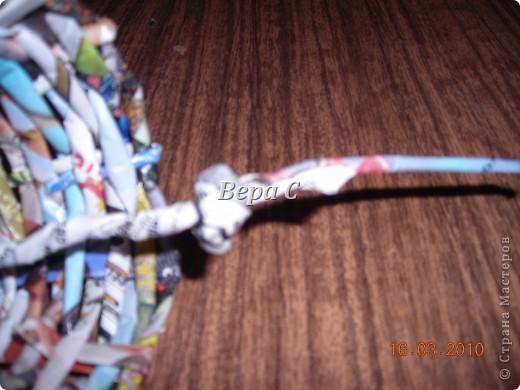 Мастер-класс,  Плетение, :  МК по плетению колокольчиков из газеты Бумага журнальная Отдых, . Фото 15