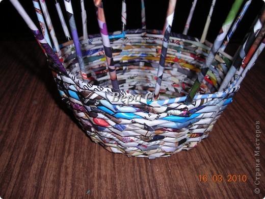 Мастер-класс, Плетение, : МК плетеной курочки к Пасхе под яйца Бумага журнальная Пасха, . Фото 3