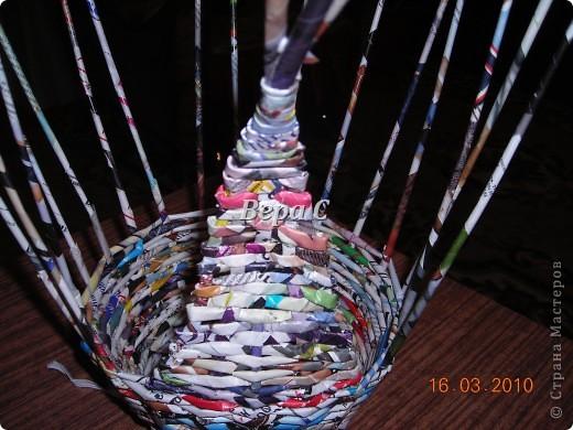 Мастер-класс, Плетение, : МК плетеной курочки к Пасхе под яйца Бумага журнальная Пасха, . Фото 7