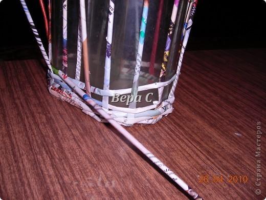 На одном иностранном сайте увидела плетеный башмак,описания там не было. Долго я его там рассматривала ,немного изменила и решила поделиться с вами его созданием.. Фото 3
