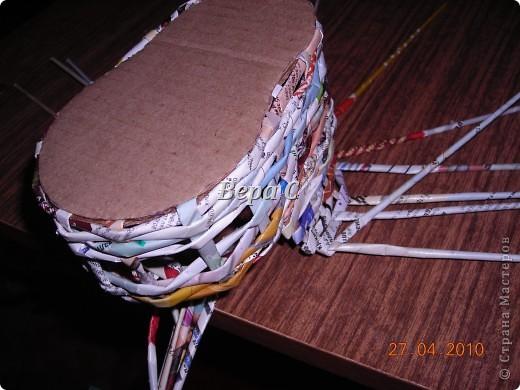 На одном иностранном сайте увидела плетеный башмак,описания там не было. Долго я его там рассматривала ,немного изменила и решила поделиться с вами его созданием.. Фото 9