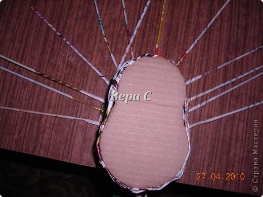 На одном иностранном сайте увидела плетеный башмак,описания там не было. Долго я его там рассматривала ,немного изменила и решила поделиться с вами его созданием.. Фото 10