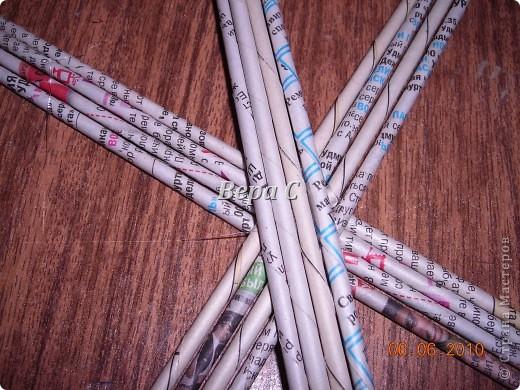 Многие пишут в комментариях, что плетеное донышко получается с дырками, не очень красивое. Вот сегодня я показываю, как сплести донышко плотным.. Фото 3